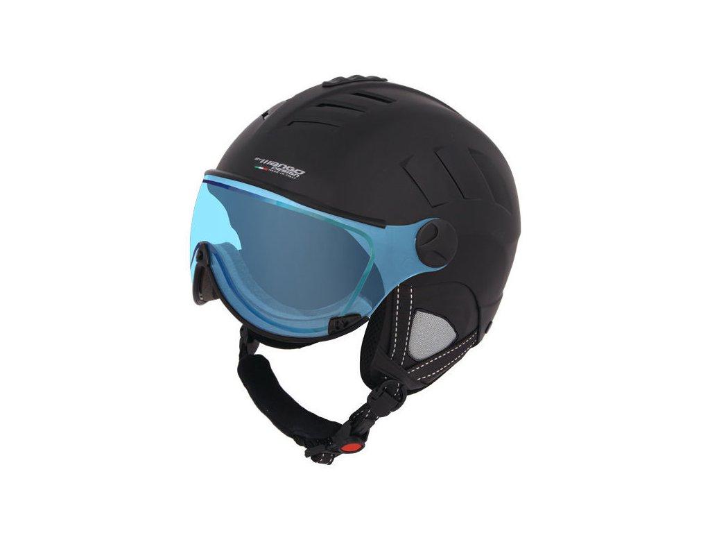 Lyžiarska helma Mango VOLCANO VIP - čierna mat 18/19 (varianta 56-58 cm)