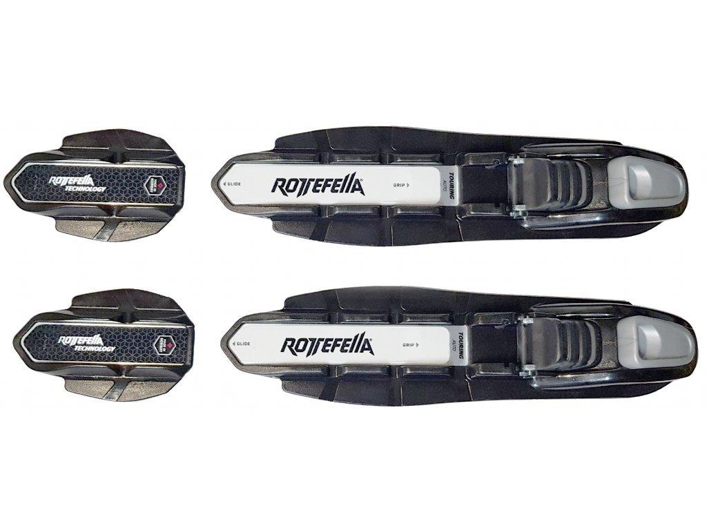 Rottefella TOURING AUTO NIS rental black (varianta univerzálne)