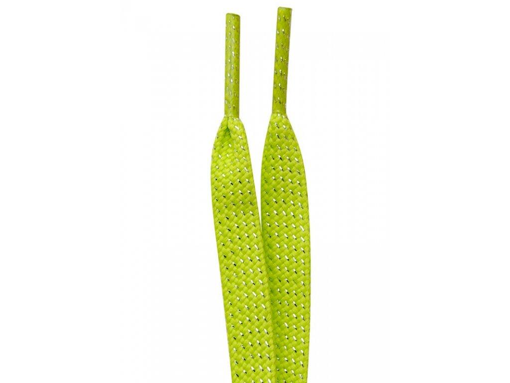 Tempish ŠNÚRKY DO korčule In-LINE - green 160 cm (varianta 160 cm)