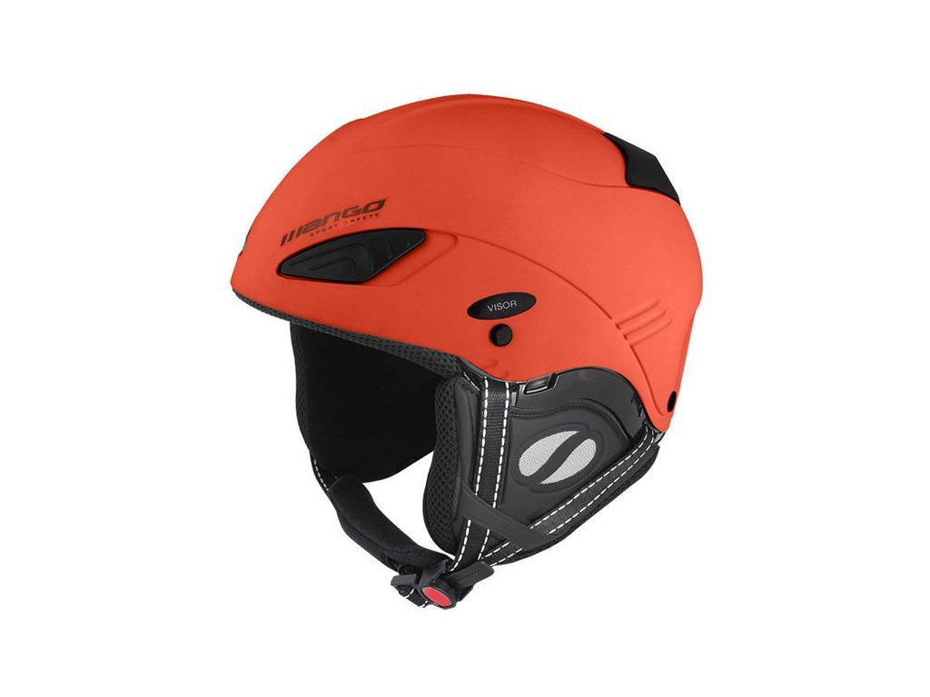 Lyžiarska helma Mango WIND FREE - oranžová mat 18/19 (varianta 53-55 cm)