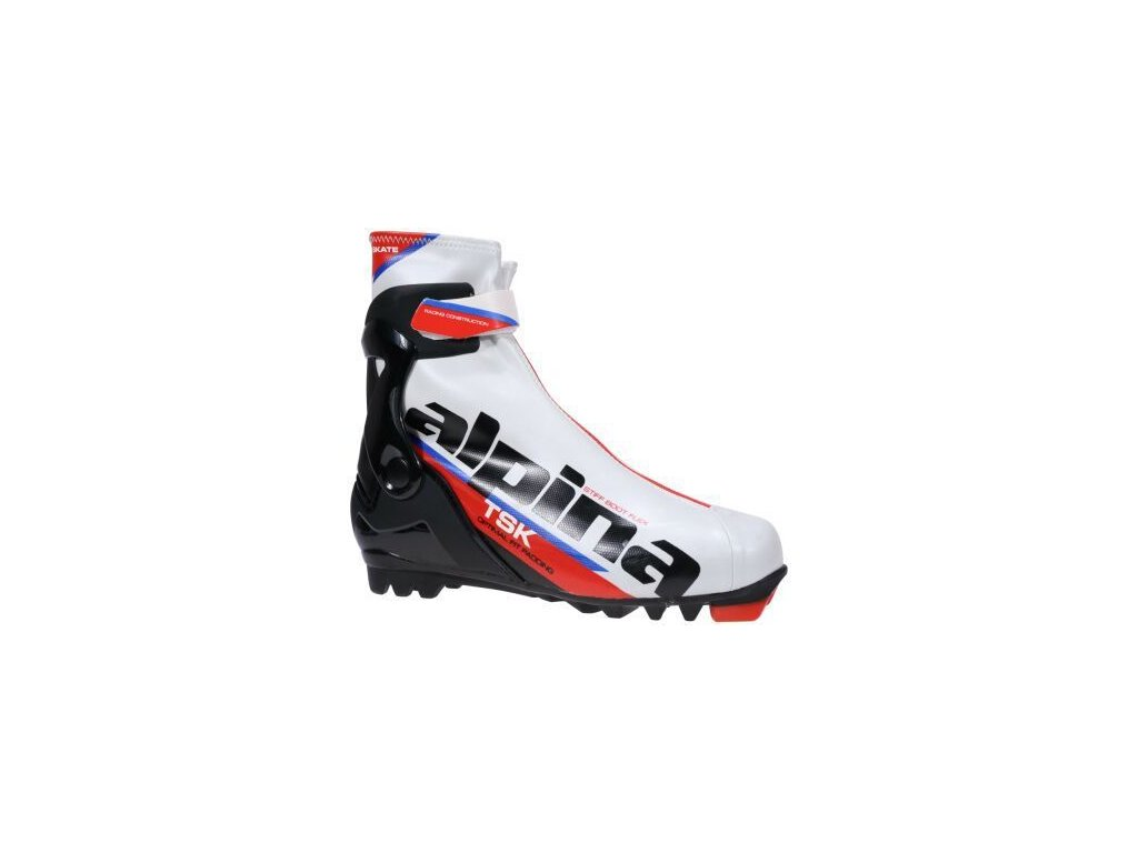 Alpina TSK Skate - White / Black / red 18/19 (EÚ (euro) EUR 41 - 26,5 cm)