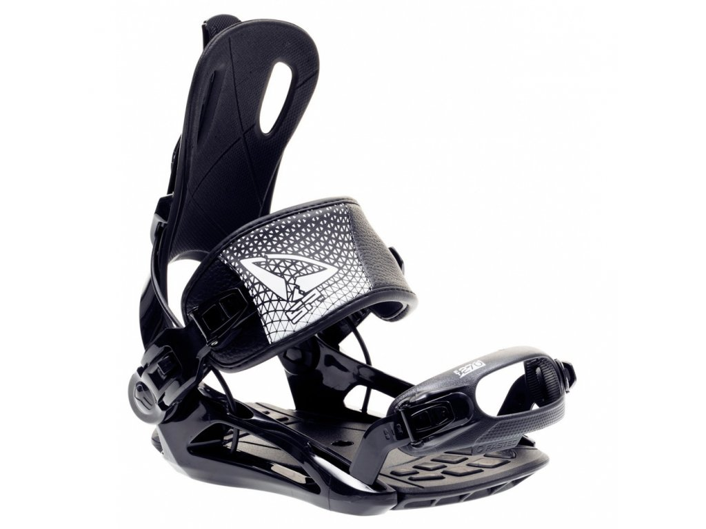 Snowboard viazanie SP FASTEC 270 - Black / White 19/20 (varianta M)