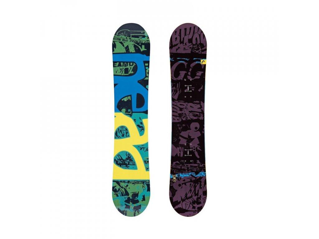Snowboard Head EVIL YOUTH (varianta 118 cm)