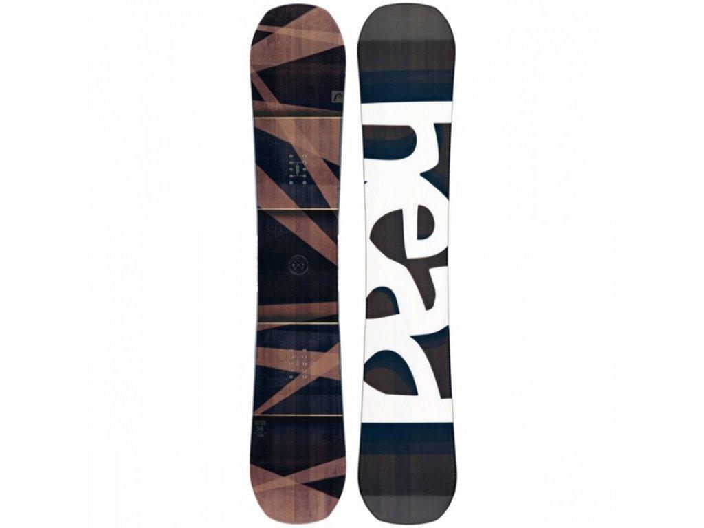 Snowboard Head DAYMAKER black / brown 17/18 (varianta 149 cm)