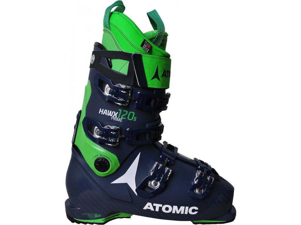 Lyžiarske topánky Atomic HAWX PRIME 120 s zelená / modrá 19/20 (veľkosť EUR 40.5-41)