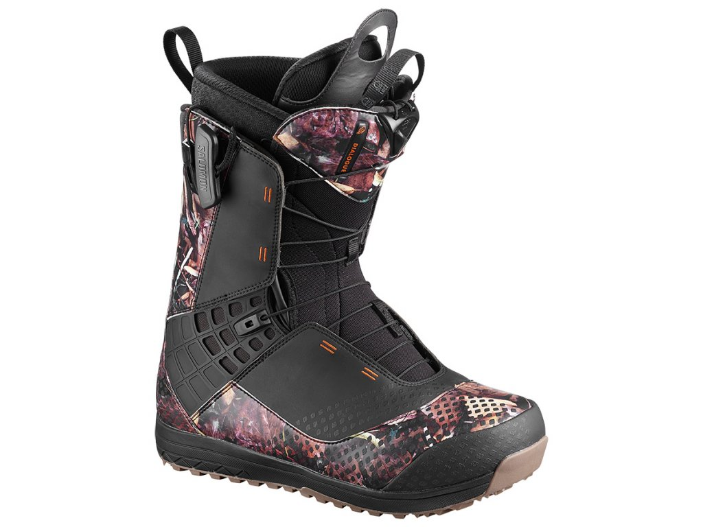 Topánky na snowboard Salomon DIALOGUE WIDE JP, Camo (varianta EUR 41,5 / 26,5 cm)