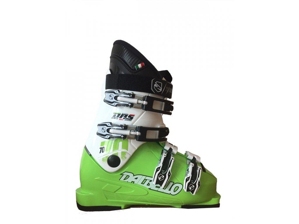 Lyžiarske topánky Dalbello DRS SCORPION 70 JR - lime / white 16/17 (veľkosť EUR 33)