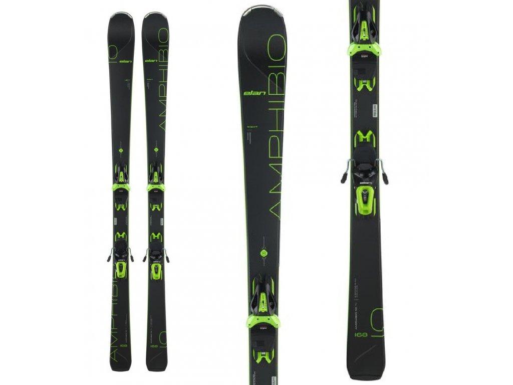 Zjazdové lyže Elan AMPHIBIA 10 Tí Power Shift + viazanie EL 10 19/20 (dĺžka lyže 168)