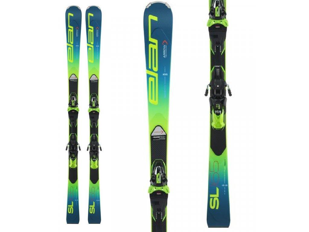 Zjazdové lyže Elan SL FUSION X + viazanie EMX 11 19/20 (dĺžka lyže 160)