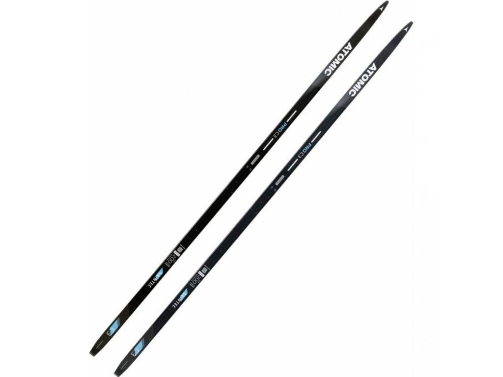 Bežky Atomic PRO C3 L med Skintec 18/19 (dĺžka lyže 200 cm)