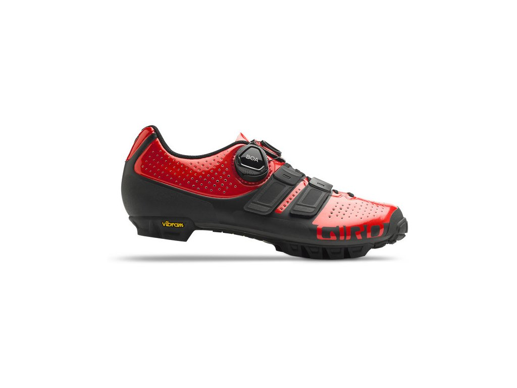 Giro W SICA TechLace - bright red / black (varianta EUR 40 / 25,5 cm)