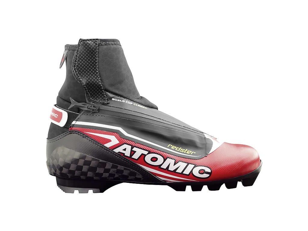 Topánky na bežky Atomic Race Ti Worldcup CLASSIC PILOT red / black 17/18 (veľkosť EUR 38-23.5)