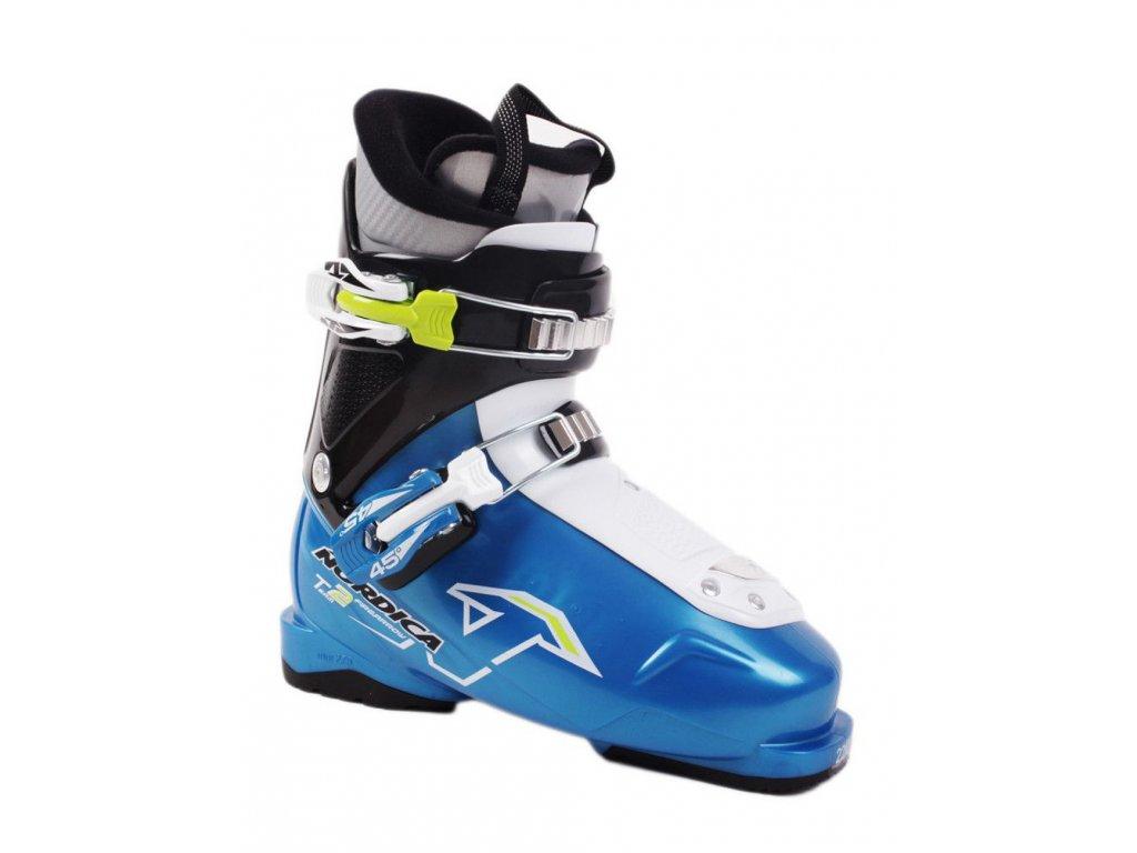 Lyžiarske topánky Nordica FIRE ARROW TEAM 2 blue - použité 17/18 (veľkosť EUR 32)