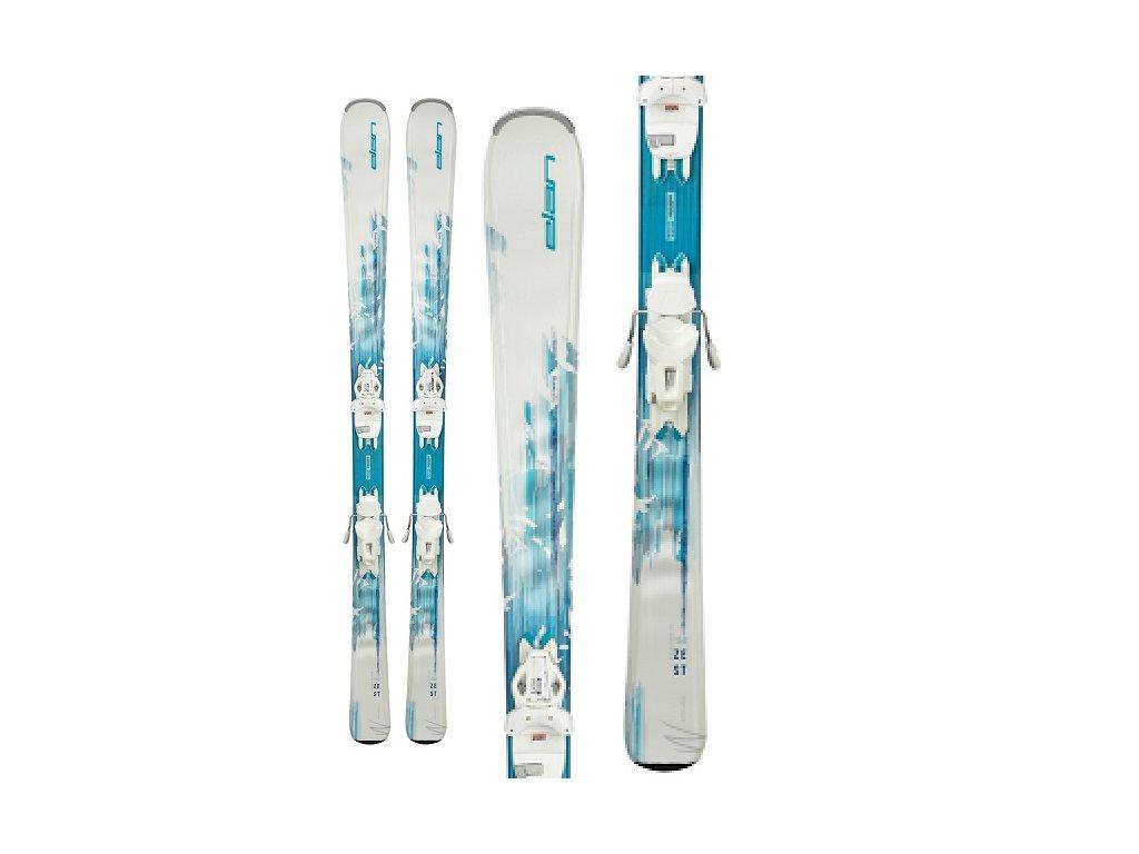 Zjazdové lyže Elan ZEST Light Shift + viazanie ELW 9 19/20 (dĺžka lyže 146)