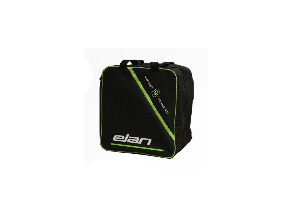 Elan SKI BOOT AND HELMET BAG - black / green (varianta univerzálne)