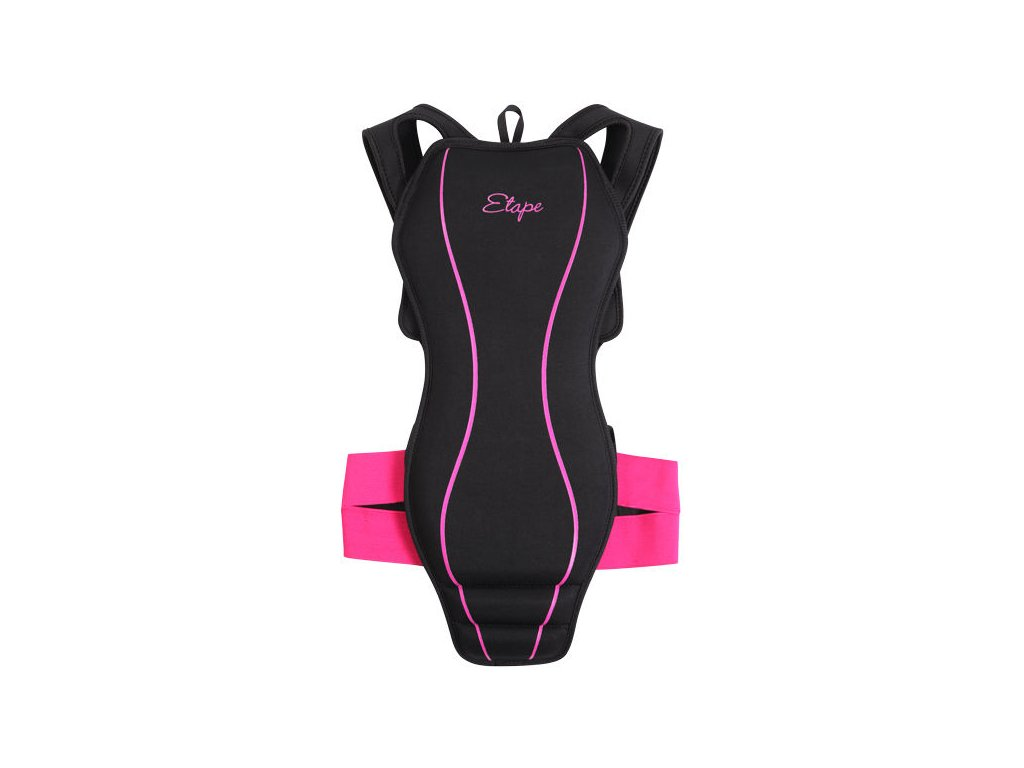 Etape SOFT PRO - black / pink (výška postavy S / 140-160 cm)