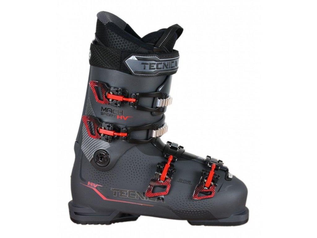 Lyžiarske topánky Tecnica MACH SPORT 80 HV anthracite / red 19/20 (veľkosť EUR 42-27)
