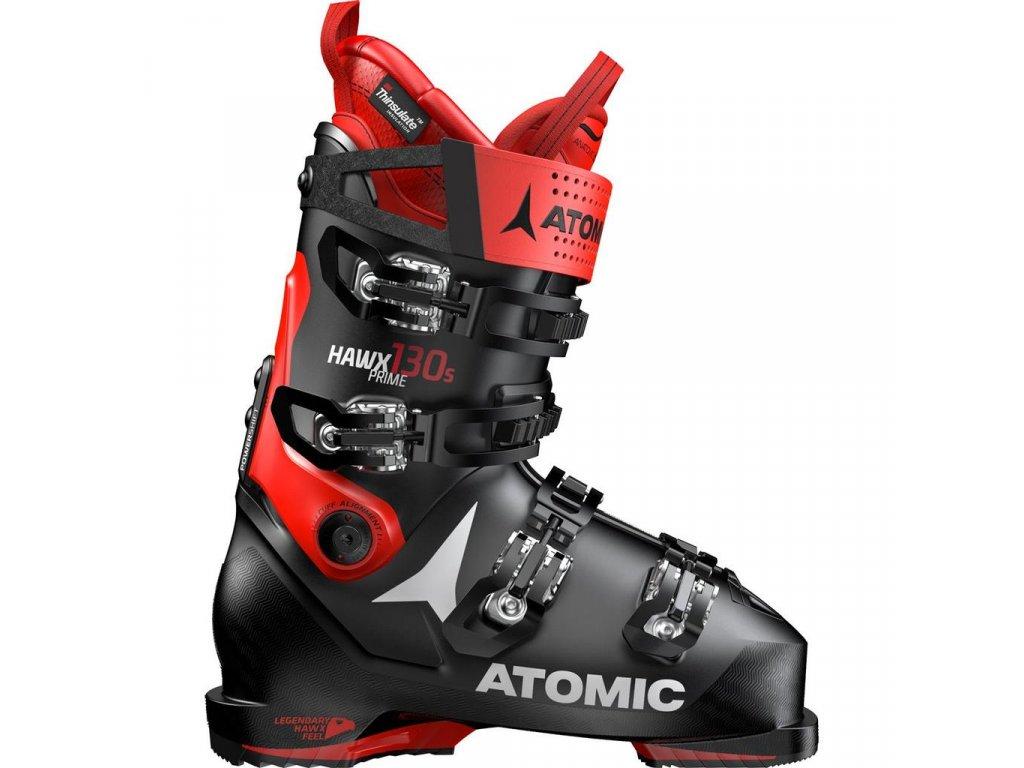 Atomic Hawx Prime 130 S black / red 19/20 (EÚ (euro) EUR 40,5-41 / 26-26,5 cm)