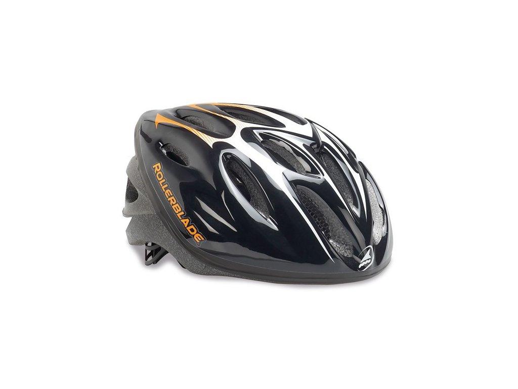 Inline helma Rollerblade WORKOUT Black / Orange (Helmy vel. L-XL / 58-61cm)