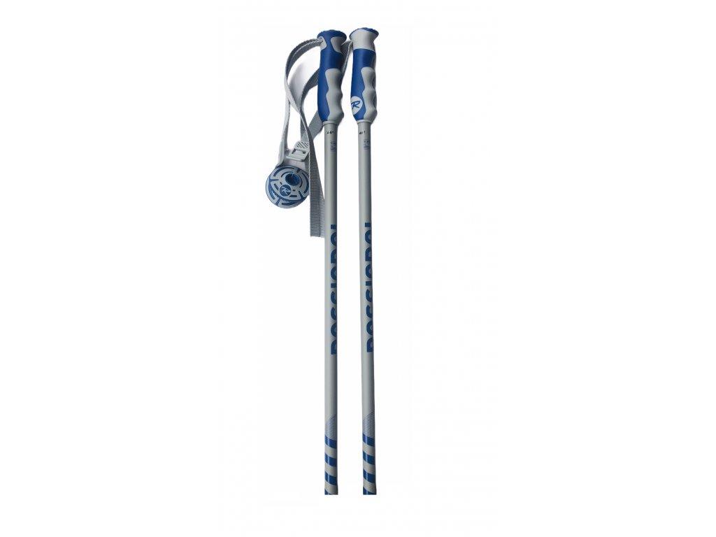 Lyžiarske palice Roosignol STOVE grey / blue 20/21 (dĺžka 115)