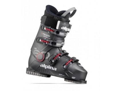 Lyžiarske topánky Alpina XTRACK 60 Black / Red, 20/21 (veľkosť EUR 40)