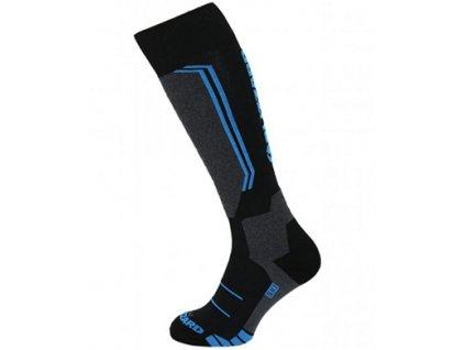 Blizzard Allround Ski Socks junior black / anthracite / blue (Ponožky vel. EUR 27-29)