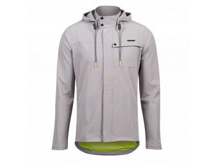 Cyklistická bunda Pearl izumi Rove BARRIER JACKET, Gray (veľkosť M)