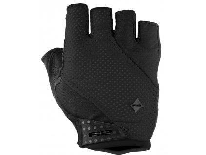 Cyklistické rukavice R2 RIBBON ATR37A, Black (veľkosť L)