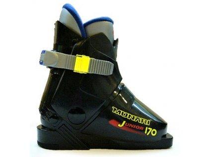 Lyžiarske topánky Munari JUNIOR 170, black, 16/17 (veľkosť EUR 26.5)