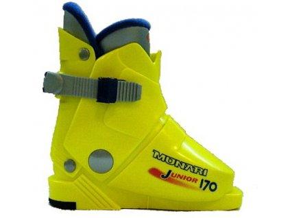 Lyžiarske topánky Munari JUNIOR 170 - giallo yellow 16/17 (veľkosť EUR 26.5)