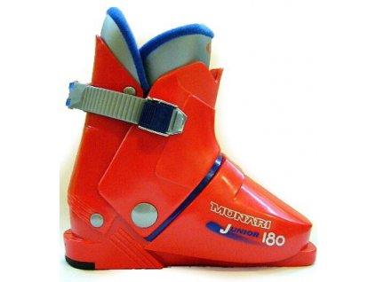 Lyžiarske topánky Munari JUNIOR 180 - red blue 15/16 (veľkosť EUR 34)