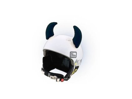 Teplo-uši Uši Rožky čierne veľké (varianta univerzálne)