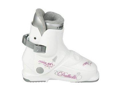 Lyžiarske topánky Dalbello MISS.ION GIRL - white 17/18 (veľkosť EUR 37.5)