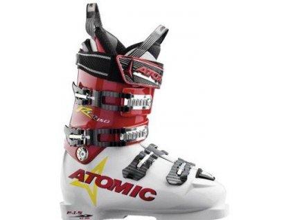 Lyžiarske topánky Atomic RT TI 150 white / red 16/17 (veľkosť EUR 36.5)