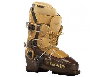 Lyžiarske topánky Full Tilt TOM Wallisch PRO MODEL, brown, 13/14 (veľkosť EUR 41)