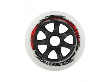 Rollerblade 110mm / 84A (sada 8 ks) white 17/18 (varianta univerzálne)