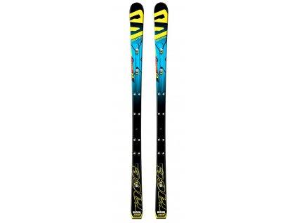Zjazdové lyže Salomon LAB X-RACE GS JR PwlZ, black / blue, 15/16 (dĺžka lyže 152)