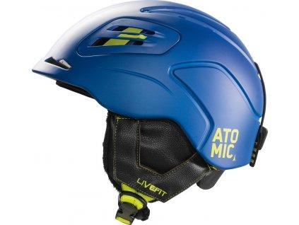 Lyžiarska helma Atomic MENTOR LF - modrá 16/17 (varianta L / 59-62cm)