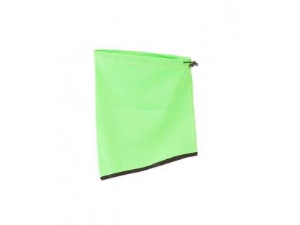Nord Blanc NBWHK5987 nákrčník - green gecko (varianta univerzálne)