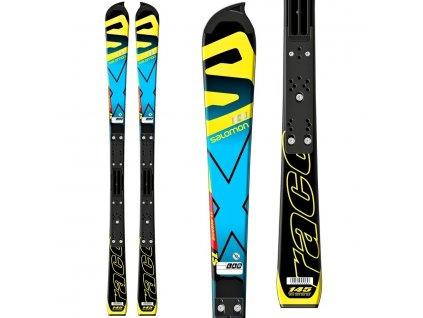 Zjazdové lyže Salomon LAB X-Race SL jr Plate + viazanie Atomic Neox 310 (dĺžka lyže 145)