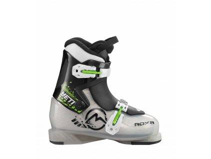 Lyžiarske topánky Roxa YETI 2 - transparent / Black, sivá / čierna, 17/18 (veľkosť EUR 31)