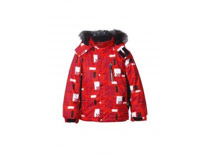 Icepeak RASMUS KID BUNDA - red (varianta 104 / 3-4)