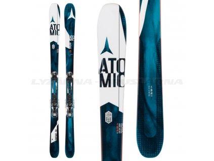 Zjazdové lyže Atomic VANTAGE 90 cti + viazanie TRACKER MNC 13 S 16/17 - testované (dĺžka lyže 176)