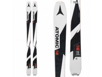 Zjazdové lyže Atomic BACKLAND UL 85 17/18 (dĺžka lyže 163)