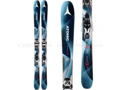 Zjazdové lyže Atomic VANTAGE 90 cti W + viazanie Warden 11 Demo 17/18 (dĺžka lyže 169)