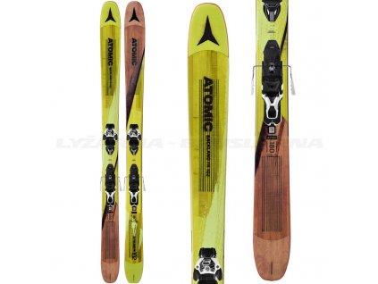 Zjazdové lyže Atomic BACKLAND FR 102 + viazanie Warden MNC 13 Demo 17/18 (dĺžka lyže 180)