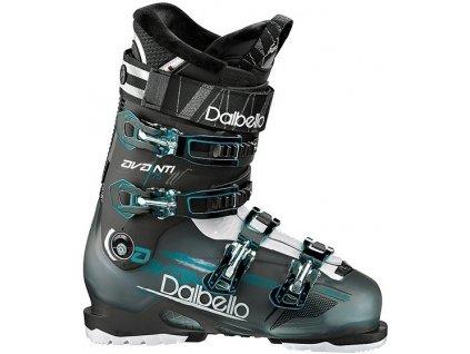 Lyžiarske topánky Dalbello AVANTI 75W - black transparent / black (veľkosť EUR 38)