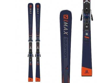 Zjazdové lyže Salomon S MAX 12 + Z12 Walk F80 18/19 Testované (dĺžka lyže 175)