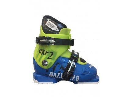 Lyžiarske topánky Dalbello RTL CXR 2 JR - blue / apple 18/19 (veľkosť EUR 33)
