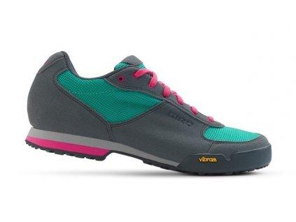 Giro PETRA VR - Turquoise / Bright Pink W (varianta EUR 39/25 cm)